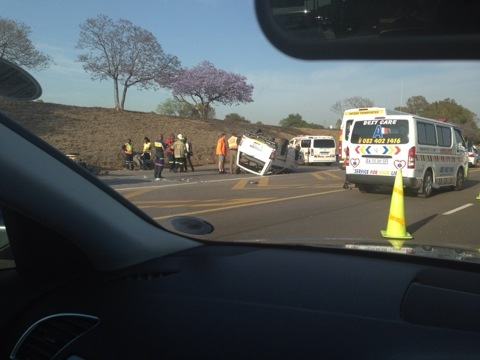 Car accident on the N4